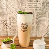 handcraft garden milk tea