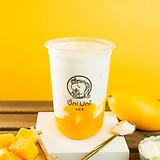 Mango fresh milk w/ vanilla pudding