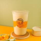 Mango yogurt w/ crystal boba
