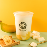 Banana fresh milk w/ vanilla pudding