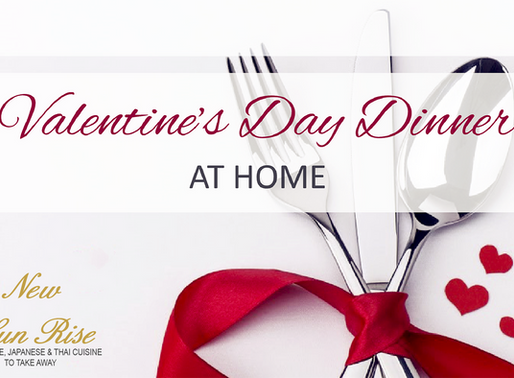 Valentine's Day 3 Course Dinner for £25