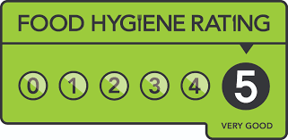 Our Recent 5* Food Hygiene Rating!