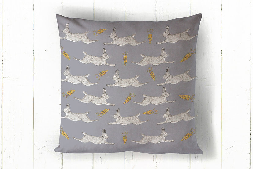 Leaping Hares Cushion