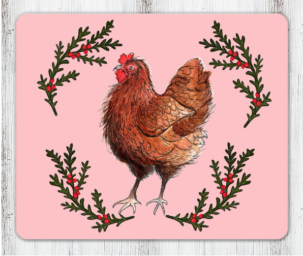 Chicken Table Place Mat