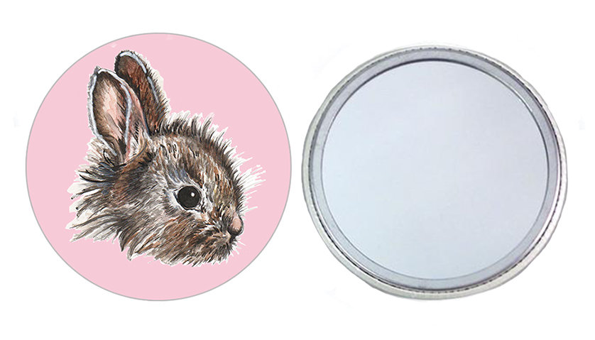 Little Bunny Pocket Mirror