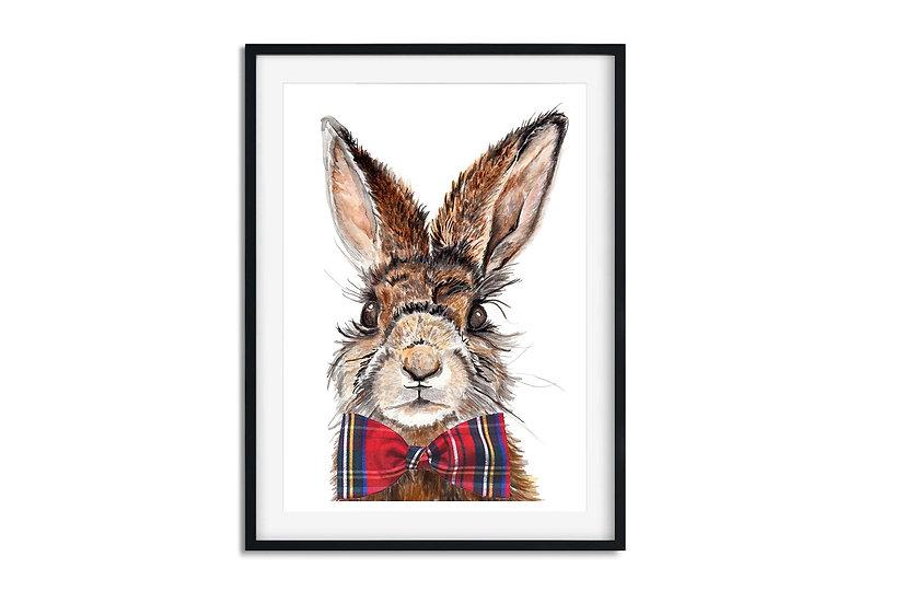 A3 Mr Hare Print
