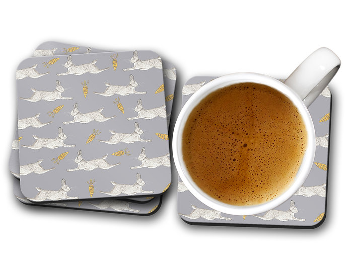 Leaping Hare Drinks Coaster
