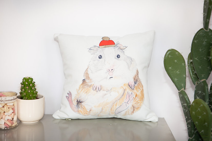 Mini Geoffrey Guinea Pig Cushion
