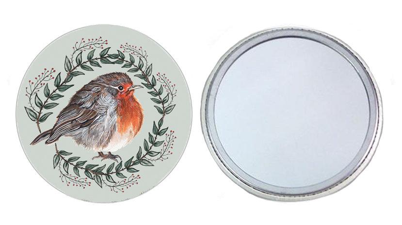 Robin Pocket Mirror