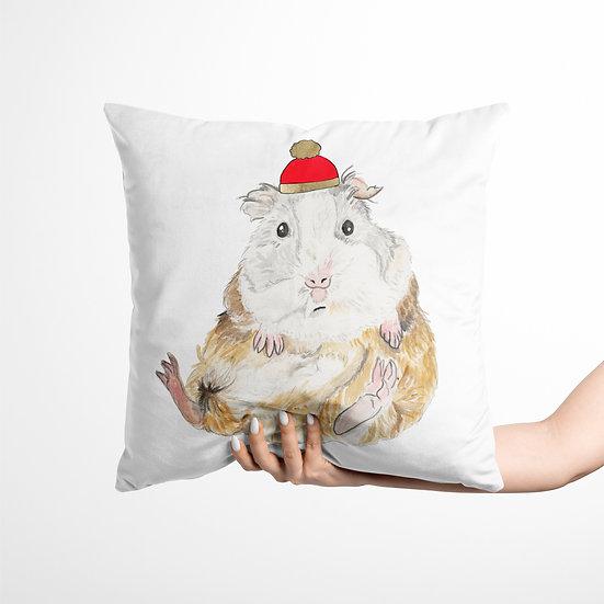 Guinea Pig Velvet Cushion