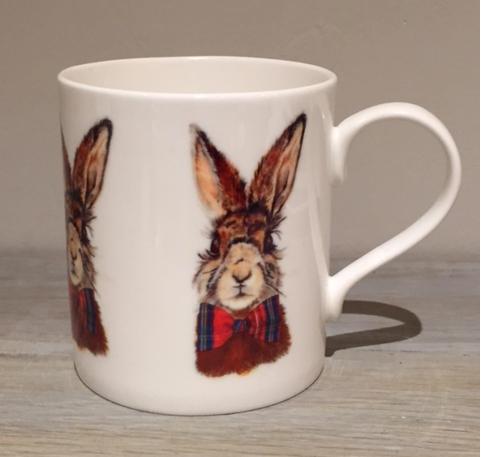 Winter Hare Mug