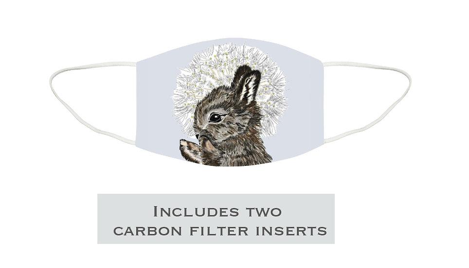 Reusable Washable Rabbit Face Mask