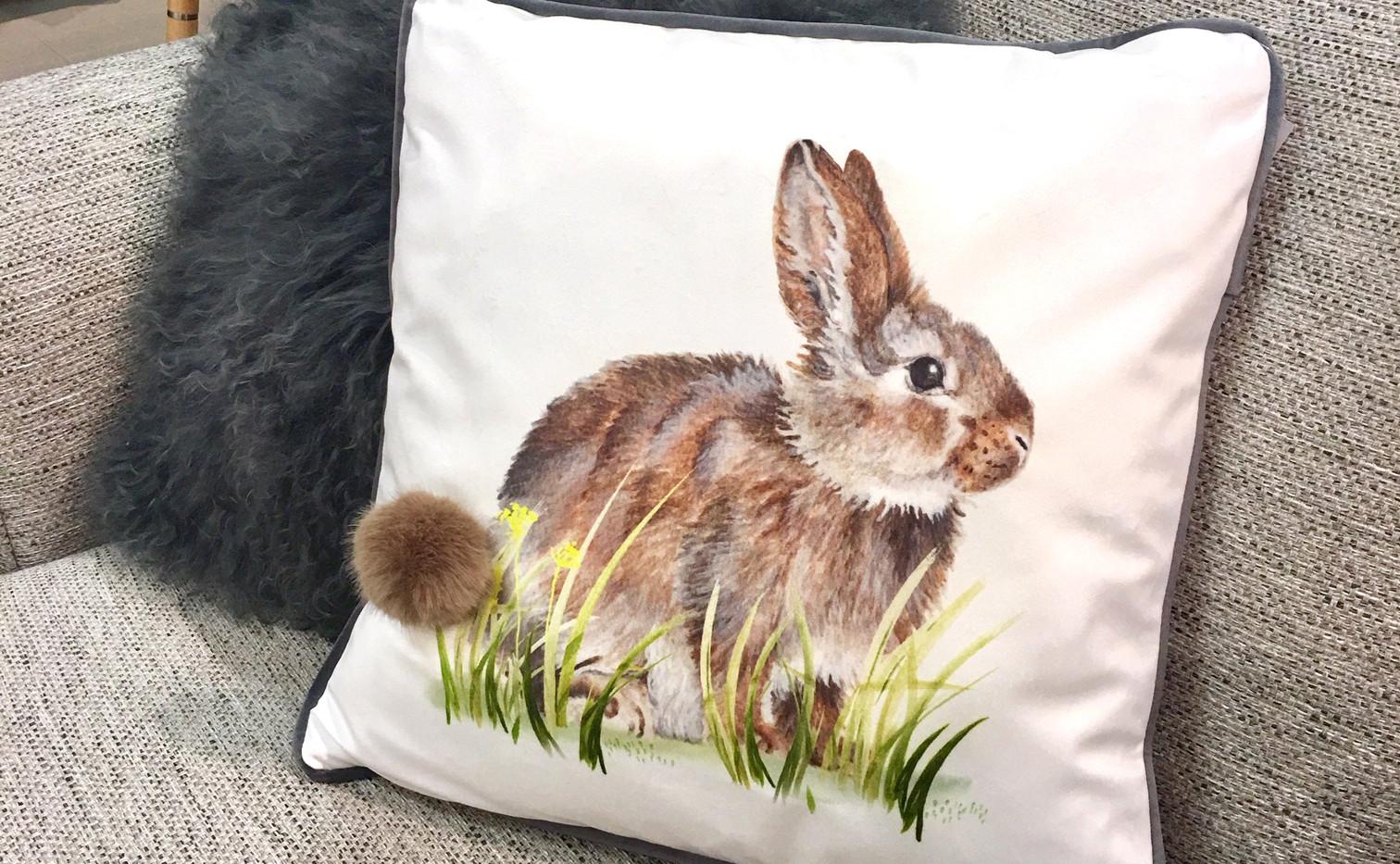 Easter Bunny cushion