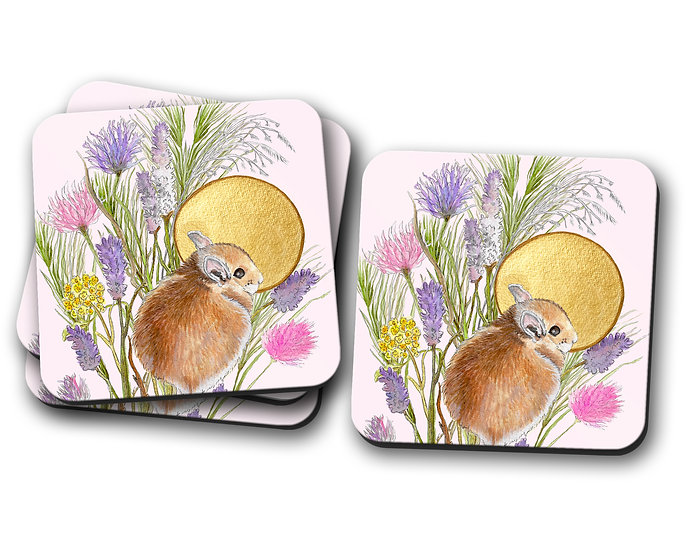 Field Mouse Coasters