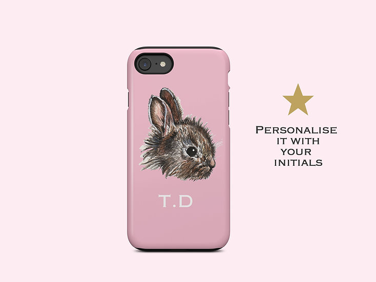 Baby Bunny Pink iPhone Case