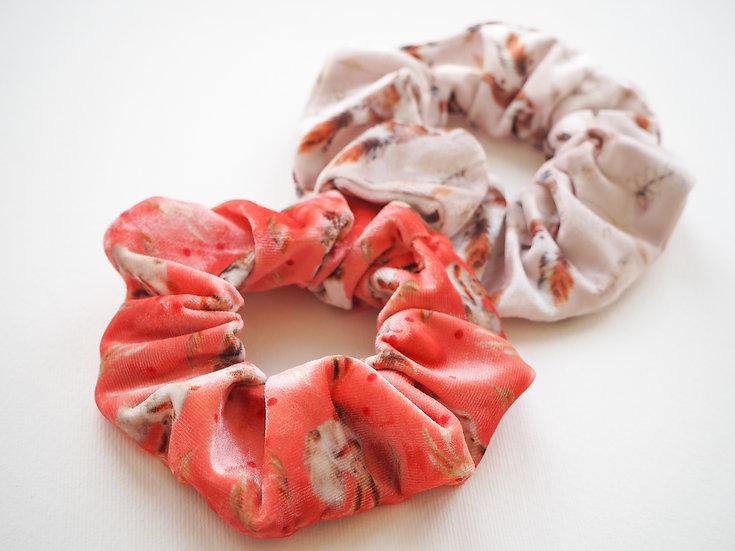 Pink Scrunchies Gift Set