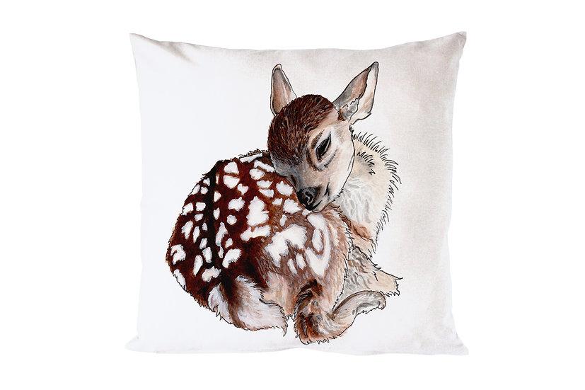 Sleeping Fawn Cushion