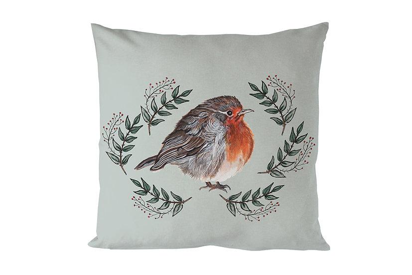 Red Robin Sage Cushion