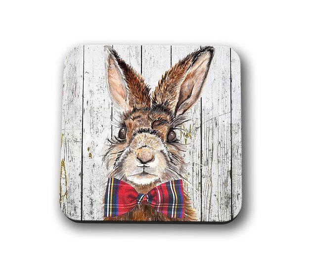 Mr Hare Drinks Coaster