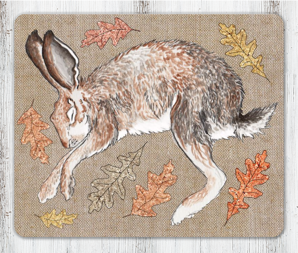 Sleeping Hare Table Place Mat