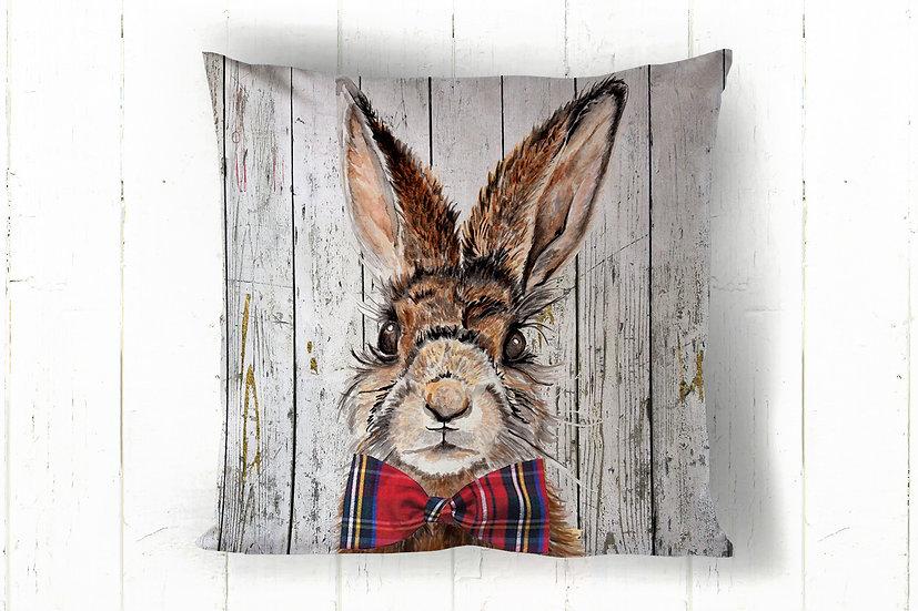 Mr Hare Cotton Cushion