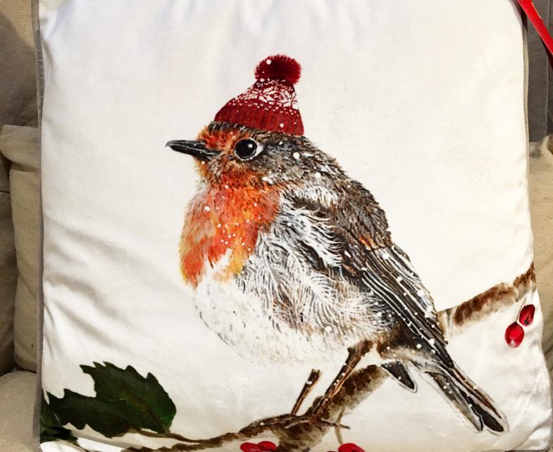 robin cushion