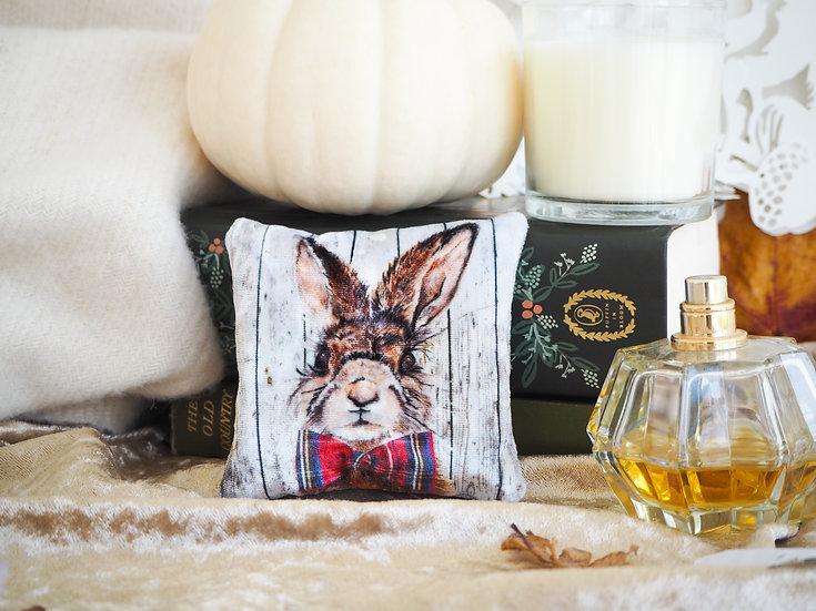 Mr Hare Velvet Lavender Bag