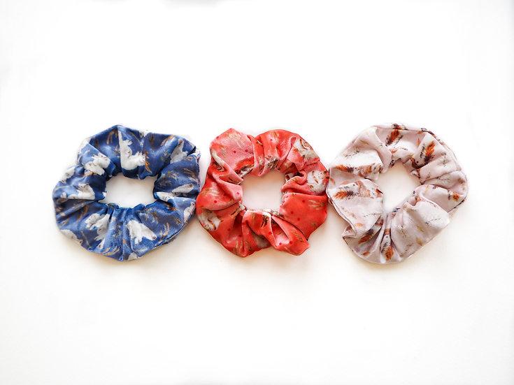 Set of 3 scrunchies gift set