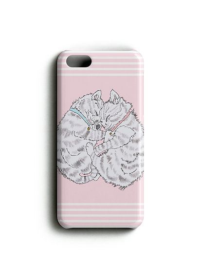 Sleeping Kittens Phone Case