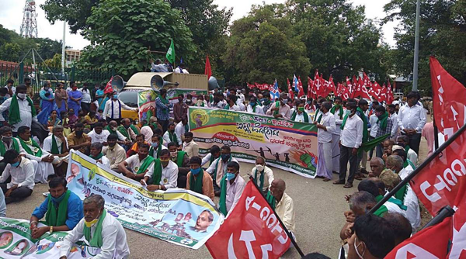 Farmer outfits call for Bharat Bandh