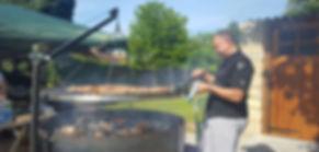 Swing bbq grill 2