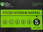 food hygiene award certificate 28th Sept