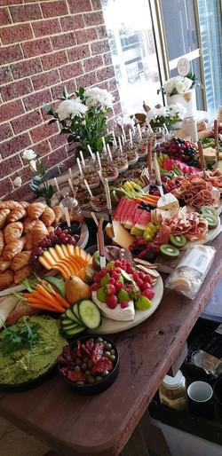 buffet table 2