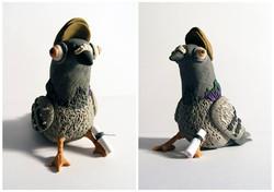 Plasticine Pigeon