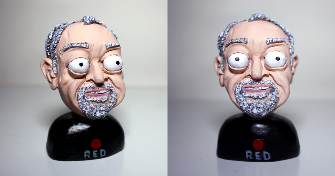 Sculpey portrait