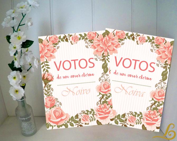 Votos de casamento personalizado | Inspiração | Download Grátis