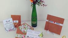 03 convites de casamento editáveis para download grátis + molde do envelope