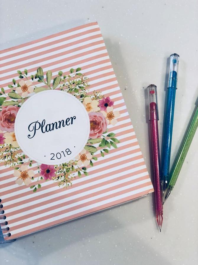 Planner 2018 | Download gratuito | + Arquivos extras