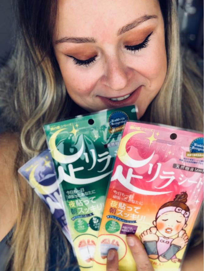 Adesivos para detox nos pés do Japão