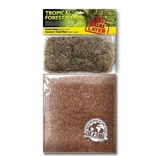 Exo Terra Dual Moss And Coco Husk Substrate, Large