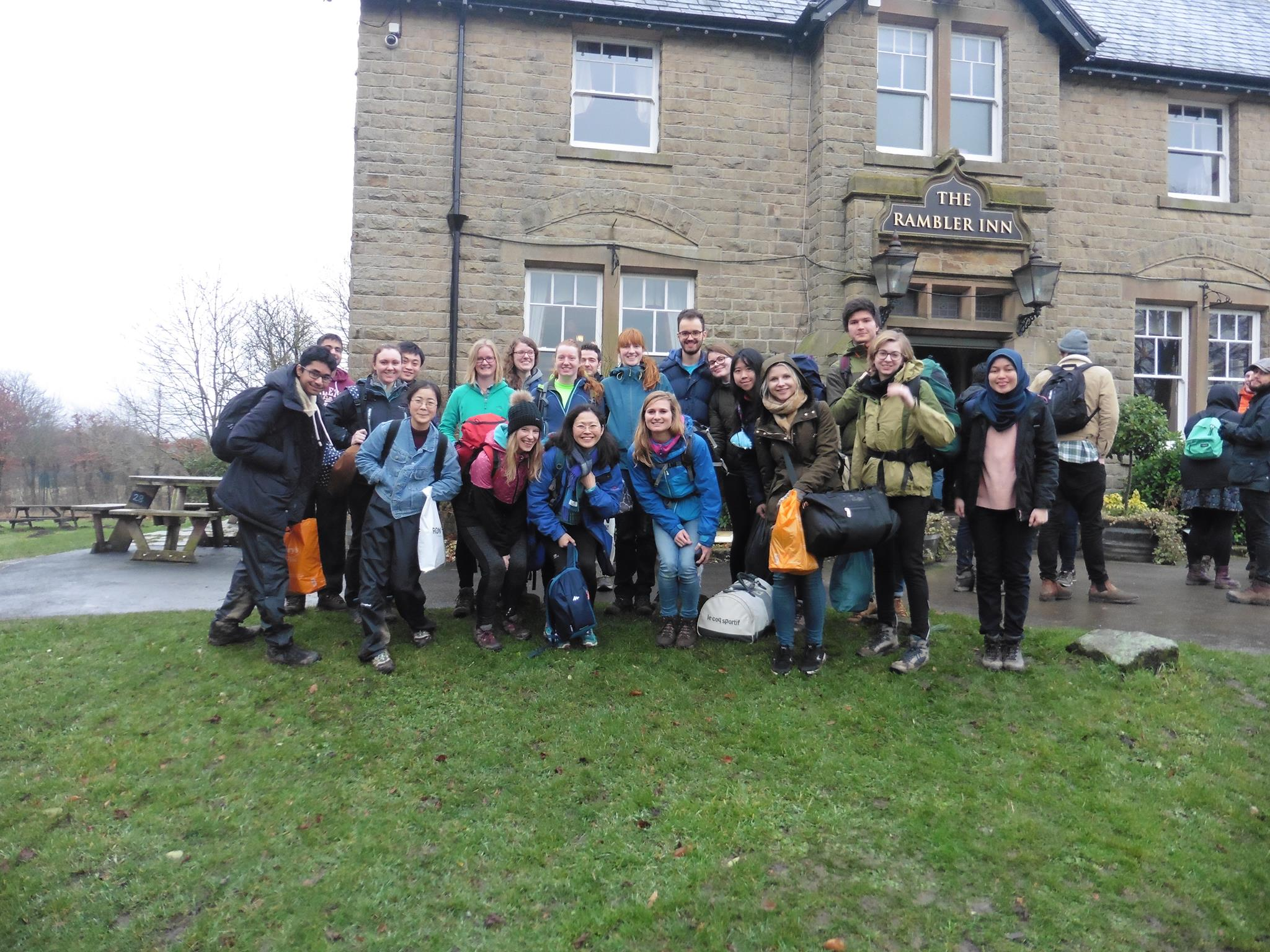 UCL Hiking Club visits the Peaks