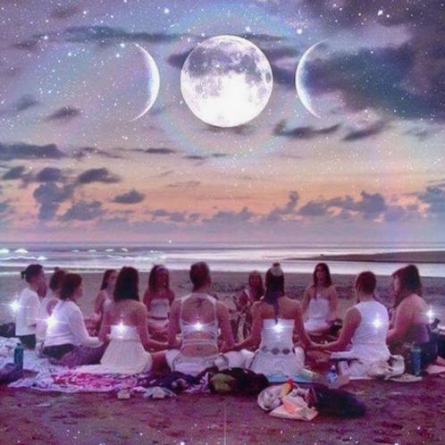 Atelier Matrice Créatrice/La lune et moi