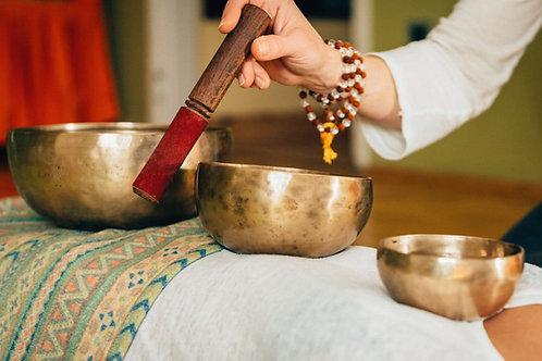 Bon cadeau à offrir : Massage sonore