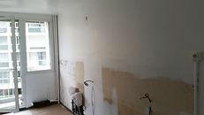 Préparaton pour peinture