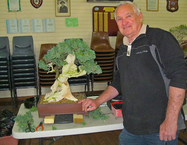 Bill with nice Juniper