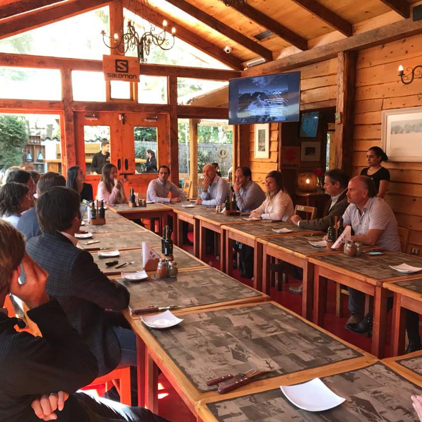 Almuerzo Andes Central