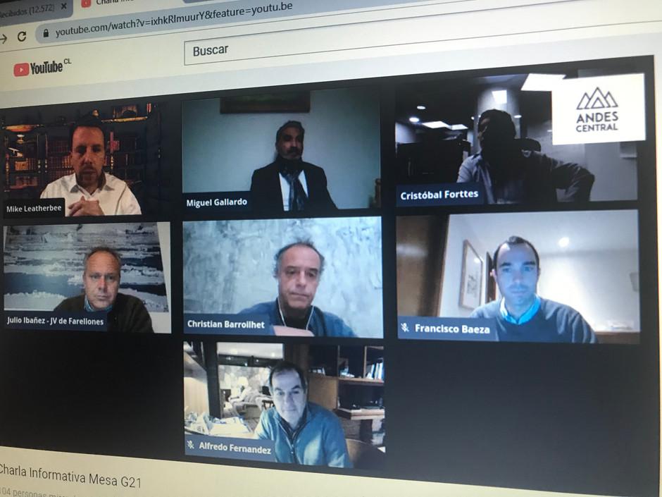 Exitosa Reunión Informativa con la Comunidad sobre el trabajo de la Mesa G-21