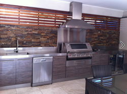 Stainless Outdoor Alfresco Kitchen