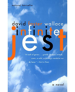 Infinite Jest by David Foster Wallace book cover
