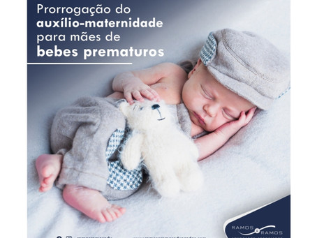 PROGRAMAÇÃO DO AUXILIO-MATERNIDADE PARA MÃES DE BEBÊS PREMATUROS